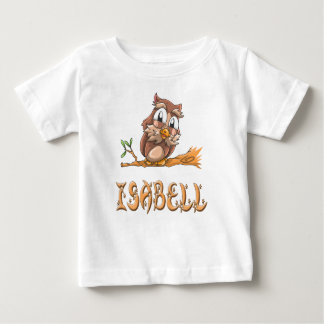Isabell Owl Baby T-Shirt