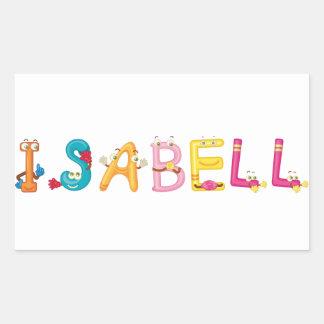 Isabell Sticker