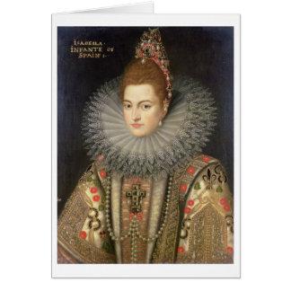Isabella Clara Eugenia (1566-1633) Infanta of Spai Card