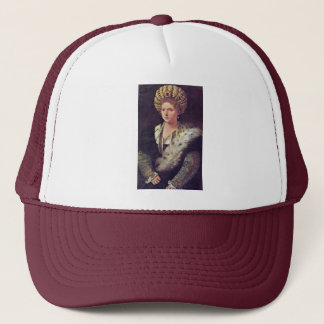 Isabella Dâ € ™ Estedeutsch: Portrait Of Isabella Trucker Hat