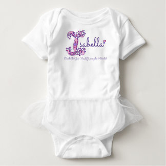 Isabella girls name & meaning I monogram shirt