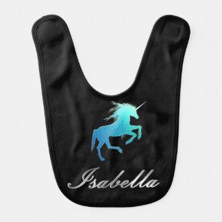 Isabella name - choose your color bib