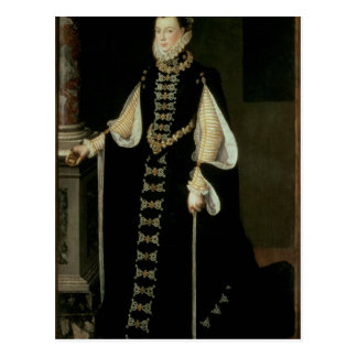 Isabella of Valois, Queen of Spain Postcard