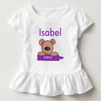 Isabel's Personalized Teddy Toddler T-shirt
