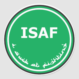 ISAF Logo Classic Round Sticker