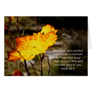 Isaiah 26:3 Scripture Encouragement Card