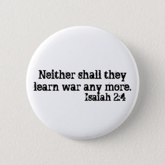 Isaiah 2:4 Button