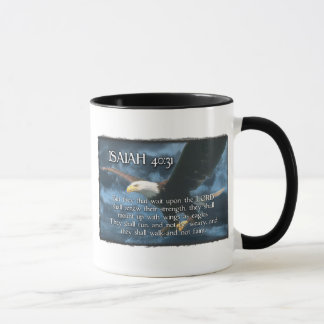 ISAIAH 40:31  Mount up with wings as EAGLES Mug