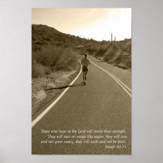 Isaiah 40:31 poster