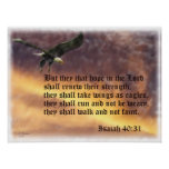 Isaiah-40:31 Posters