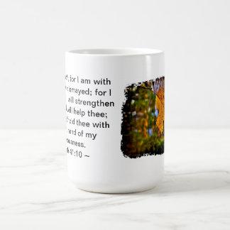 Isaiah 41:10 coffee mug