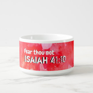 Isaiah 41 10 I Will Strengthen Bowl
