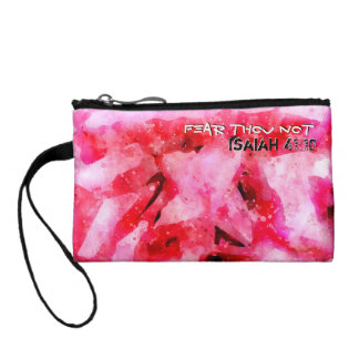 Isaiah 41 10 I Will Strengthen Coin Purse