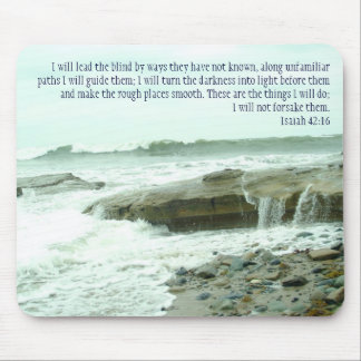 Isaiah 42:16 mouse pad