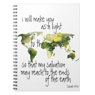 Isaiah 49:6 Notebook