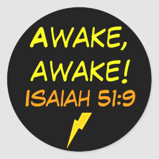 Isaiah 51:9 stickers
