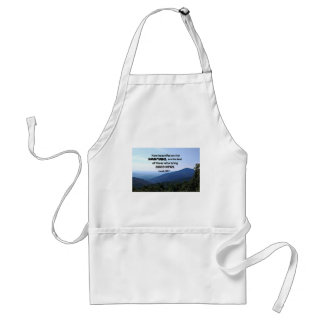 Isaiah 52:7 How beautiful on the mountains are Standard Apron