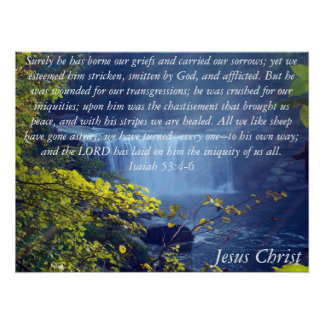 Isaiah 53 Collection Poster