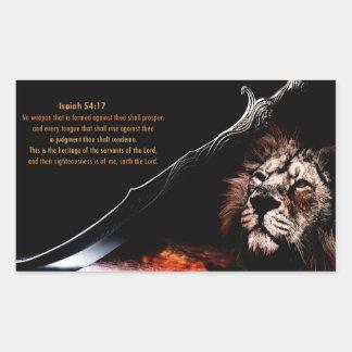 Isaiah 54:17 sticker