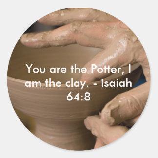 Isaiah 64:8 Sticker