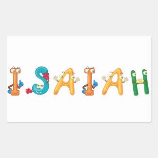 Isaiah Sticker
