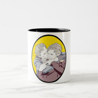 Isak og Even Two-Tone Coffee Mug