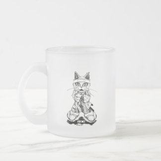 "Isami Kondou ""Troupe Camelot"" (Isamu Kondo Frosted Glass Coffee Mug"