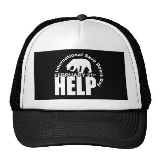 isbd black trucker hat