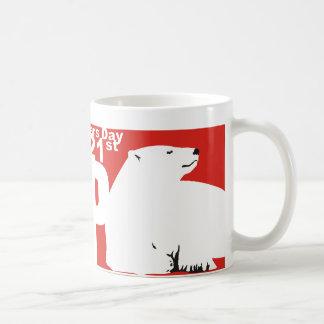 ISBD POLAR BEAR CLASSIC WHITE COFFEE MUG