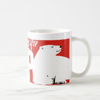 ISBD POLAR BEAR COFFEE MUG