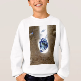 iSchnecken at the edge of way Sweatshirt