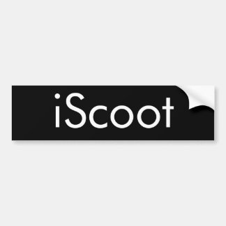 iScoot Giant Sticker