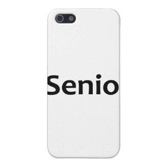 iSenior - I am a Senior Case For iPhone 5