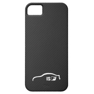 ISF white brushstroke logo Case For The iPhone 5