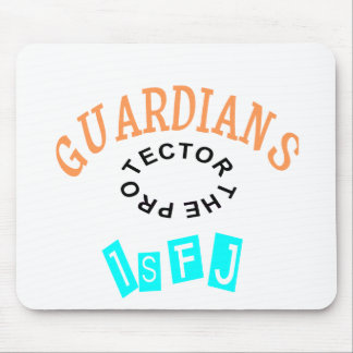 ISFJ Guardian Personality Mouse Pad