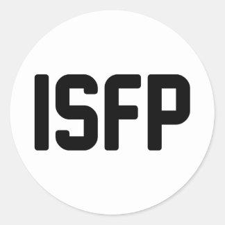 ISFP CLASSIC ROUND STICKER