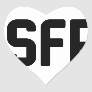 ISFP HEART STICKER