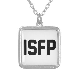 ISFP SILVER PLATED NECKLACE