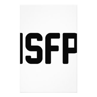 ISFP STATIONERY