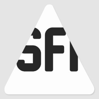 ISFP TRIANGLE STICKER