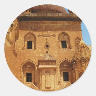 Ishak Pasha Palace PICTURE Round Sticker