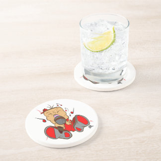 ising red edition for singers, rappers, opera drink coaster