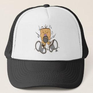 ising white trucker hat