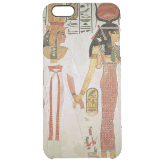 Isis and Nefertari Clear iPhone 6 Plus Case