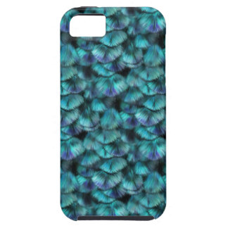 Isis blue feather pattern case for the iPhone 5