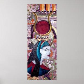 ISIS - EGYPTIAN GODDESS ART Print