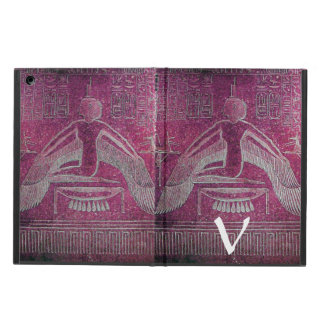 ISIS MONOGRAM, Antique Red Cover For iPad Air