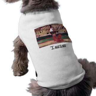 Isis with Your Dog's Name Egyptian Goddess Dog Tee Shirt