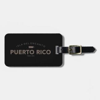 Isla del Encanto, Puerto Rico Luggage Tag