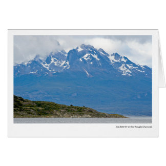 Isla Estorbo in the Beagle Channel Card